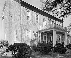 National Register of Historic Places listings in Burke County, North Carolina - Image: Bellevue, Morganton vicinity (Burke County, North Carolina)