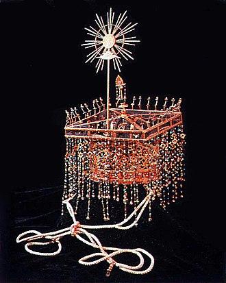 Emperor Kōmei - The Imperial crown of Japanese Emperor Kōmei