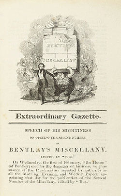 Image illustrative de l'article Bentley's Miscellany