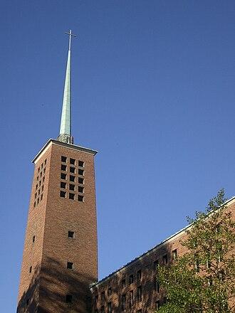 Vanderbilt University Divinity School - The spire of Benton Chapel