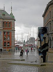 Bergen vågsallmenningen rain