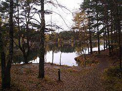 Sjön som gav stadsdelen Bergsjön dess namn.
