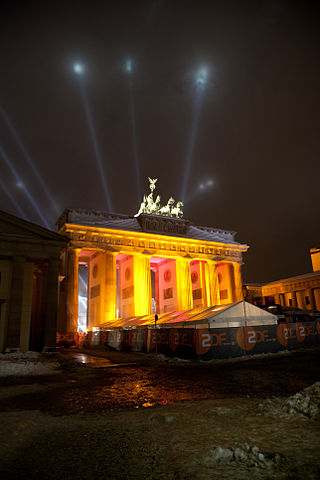 Brandenburg Gate Fireworks By Ricky7524 (Own work) [CC-BY-SA-3.0 (http://creativecommons.org/licenses/by-sa/3.0)], via Wikimedia Commons