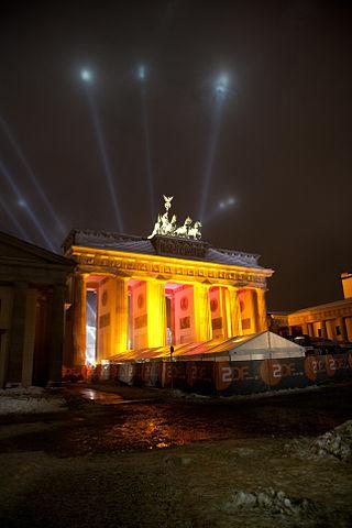 Brandenburg Gate Fireworks By Ricky7524 (Own work) [CC-BY-SA-3.0 (http://creativecommons.org/licenses/by-sa/3.0)], via Wikimedia Commons