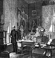 Berlin Kgl Palais Arbeitskabinett König Wilhelm I v Pr 1868 (IZ 50 H Scherenberg).JPG