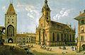 Bern, Heiliggeistkirche, Christoffelturm 1814.jpg