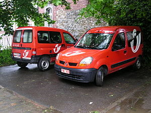 Bpost - Belgium Post Delivery cars