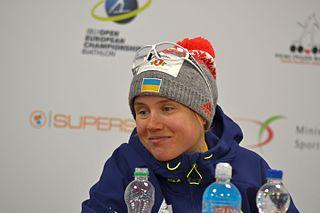 Anastasiya Merkushyna ukrainian biathlete