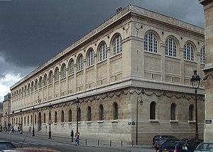 Sainte-Geneviève Library - The Bibliothèque Sainte-Geneviève in Paris, Henri Labrouste