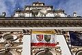 Bielsko-Biała Town Hall city flag.jpg