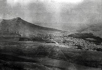 Bijar (city) - Bijar in the First World War