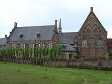 The STAM, housed in the Bijloke Abbey