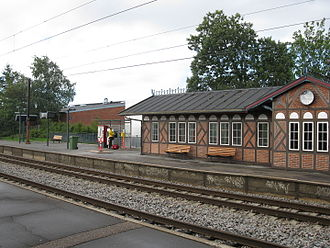 Vedbæk Station - The main station building