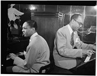 Billy Taylor and Bob Wyatt, New York, N.Y., between 1946 and 1948 (William P. Gottlieb 08361).jpg
