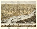 Birds eye view of the city of La Crosse, Wisconsin 1867. LOC 73694545.jpg