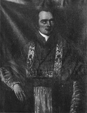 John England (bishop) - An early photograph of England