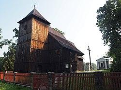 Biskupice, kościół p.w. św. Jana Chrzciciela, XVII 02