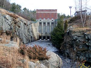 Millers River - Birch Hill Dam on the Millers River
