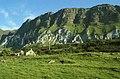 Black and White cliffs at Galboly, Antrim Coast Road - geograph.org.uk - 147628.jpg