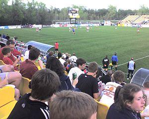 MUSC Health Stadium - Image: Blackbaud Stadium 2