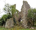 Blacksyke Tower. An old engine house, Caprington, East Ayrshire - detailed view from the west.jpg