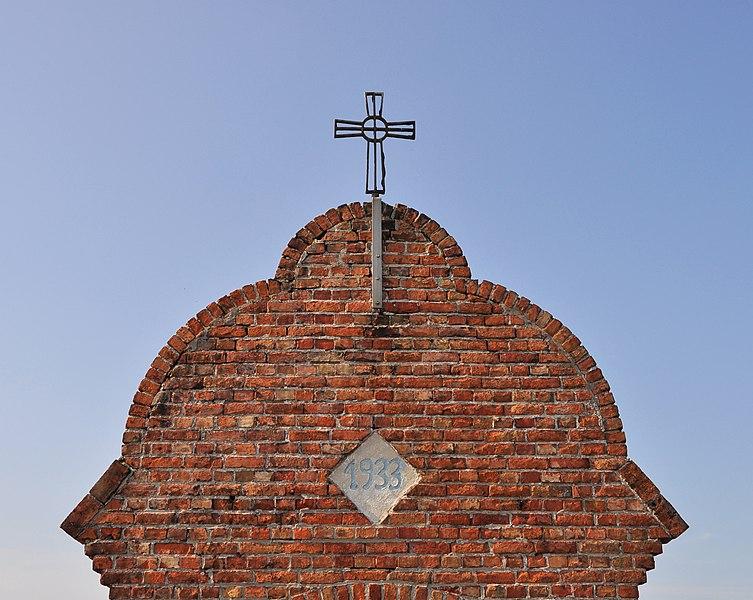 Blankenberge (Belgium): Maantje's chapel - detail