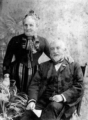 Phillip Blashki - Phillip and Hannah Blashki, 1892