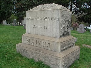Blauvelt, New York - A grave of a Blauvelt