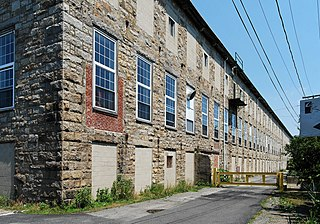 Fall River Bleachery United States historic place