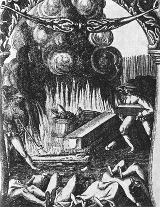 1520 in Sweden - Blodbadstavlan scen 5