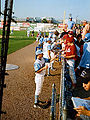 Blue Rocks players signing autographs 2010-08.jpg