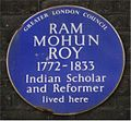Blue plaque Ram Mohan Roy.jpg