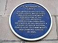 Blue plaque in St Werburgh Street - geograph.org.uk - 816795.jpg