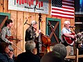 Bluegrass and Dinner at the Fiddlin' Pig Asheville NC March 2010.jpg
