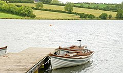 Boats on the Corbet Lough near Banbridge - geograph.org.uk - 1400592.jpg