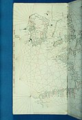 Bodleian Libraries, Portolan codex Bay of Biscay the English Channel St George's Channel the Bristol Channel.jpg