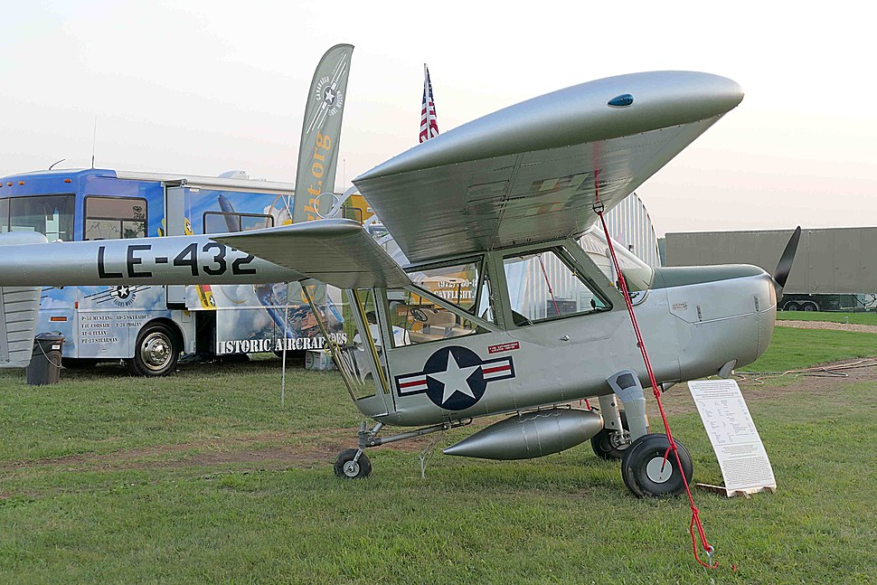 Boeing YL-15 wing side