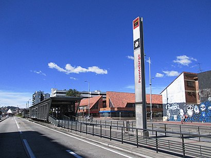 How to get to Puente Largo with public transit - About the place