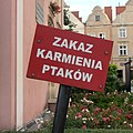 Boleslawiec-plaque-do-not-feed-birds-120713.jpg