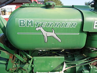 Bolinder-Munktell - 11 200 Terriers were built between 1957-1962