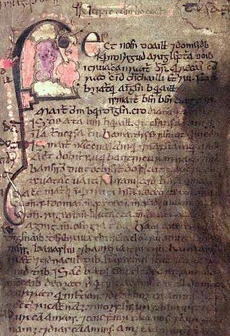 History of Ireland (800–1169) - Folio 53 from the Book of Leinster