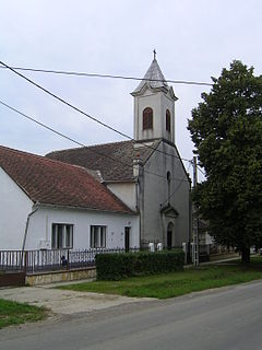 Borjád Municipality in Southern Transdanubia, Hungary