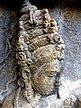 Borobudur - Divyavadana - 078 N, King Sikhandi learns of Rudrayana's planned Return (detail 2) (11706225773).jpg