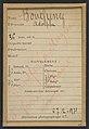 """Bouchenez. Adolphe. 36 ans, 27-2-94. (En rouge barrant la fiche- """"Transféré à Mazas. À faire extraire""""). MET DP290205.jpg"""