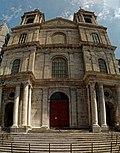 Boulogne-sur-Mer - Ville Haute - Rue Saint-Jean - View ENE on Basilique Notre-Dame de l'Immaculée Conception 1827-75 by Benoit Haffreingue.jpg