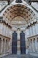 Bourges (18) Cathédrale Saint-Étienne - Extérieur - Portail Saint-Ursin - 01.jpg