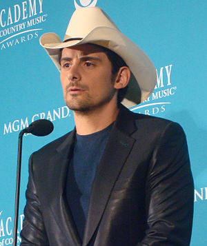 Brad Paisley at the 45th Annual Academy of Cou...