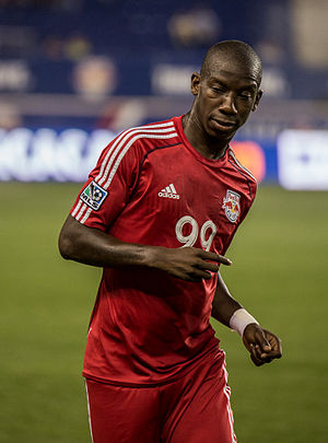 Hudson River Derby - Image: Bradley Wright Phillips nyrb