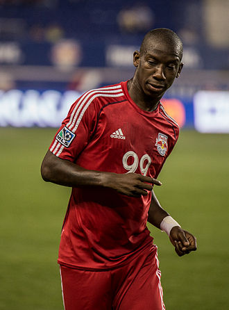 Bradley Wright-Phillips - Bradley Wright-Phillips playing for New York Red Bulls in 2014