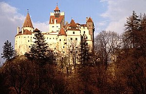 Stibor of Stiboricz - Bran Castle in Transylvania, ruled by Stibor of Stiboricz, commonly named as Dracula's Castle